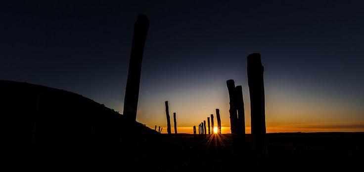 Solnedgang over borum eshøj