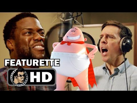 CAPTAIN UNDERPANTS: THE FIRST EPIC MOVIE Featurette - B-Roll