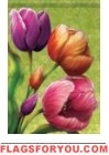 Tulips Garden Flag