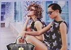 Nowa elegancka torebka skórzana. New model of handbag. Leather. Fashion. Kolaż Etui & kampania reklamowa marki Fendi