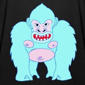 Blue Gorilla - Männer Tank Top mit Ringerrücken