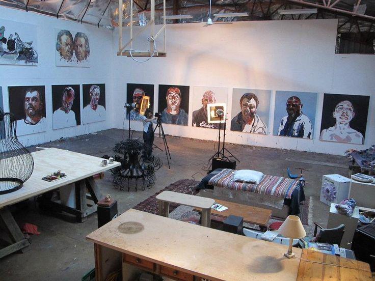 Ben Quilty Studio shot