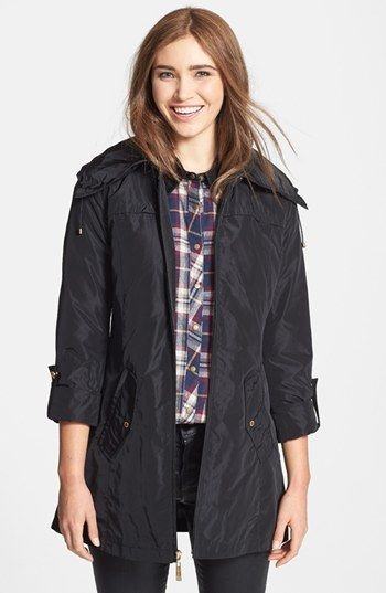 Ellen Tracy Packable Raincoat (Online Only) available at #Nordstrom