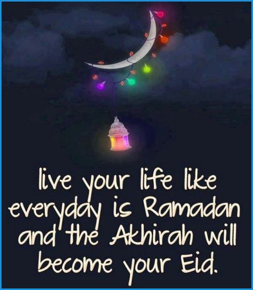 Ramadhan is around the corner yet Ramadhan is always with us in our hearts