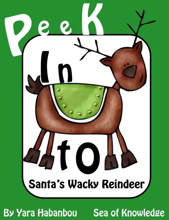Free Language Arts Lesson Santas Wacky Reindeer Sneak Peek Go