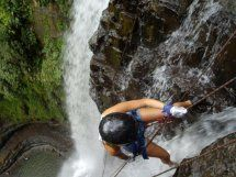 Quiet Rappelling in San Gil