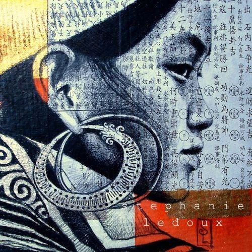 Black Hmong, Vietnam - Illustration by Stephanie Ledoux