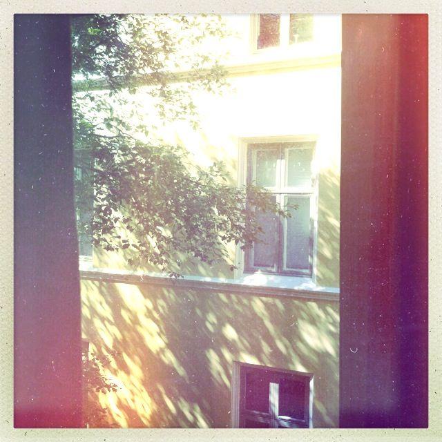 View from my window. Looks like Greece