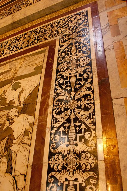 Marquetry   Marquetry floor in marble   Flickr - Photo Sharing!