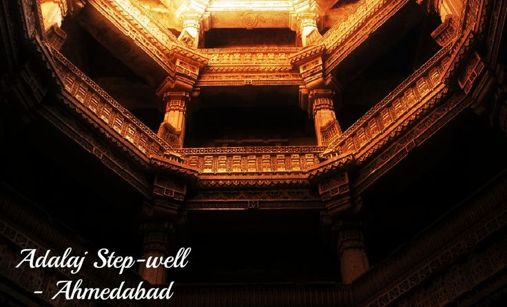 Adalaj Step Well have a great architecture to enjoy when you are in Ahmedabad. For Cheap Flights to Ahmedabad visit http://ca.riya.travel/flights/india/toronto-to-ahmedabad
