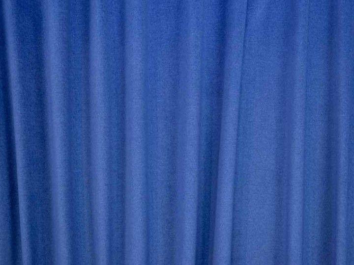 Vegas Royal Blue Cotton British Velvet Fabric - The Millshop ...