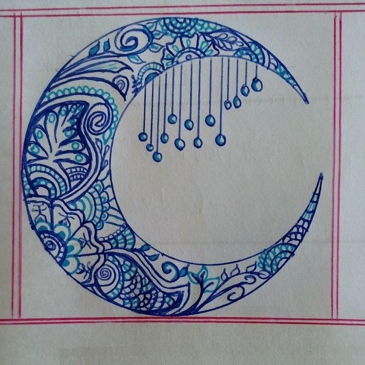 Luna. Mandala