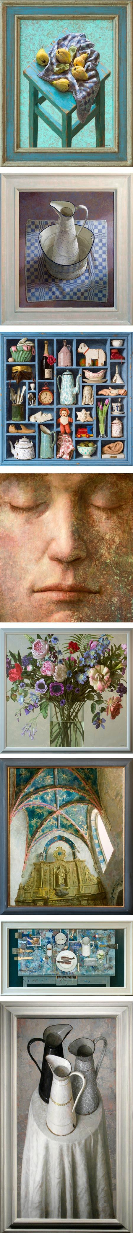 Kenne Gregoire is a Dutch painter who is showing his work in the U.S. for the first time in an exhibition that opens today at the Arcadia Gallery in New York.