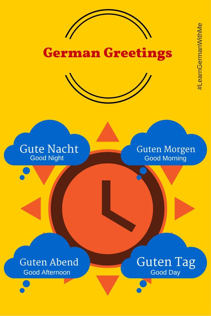 Learn German With Me: Basic German Greetings: Guten Tag!  Learn