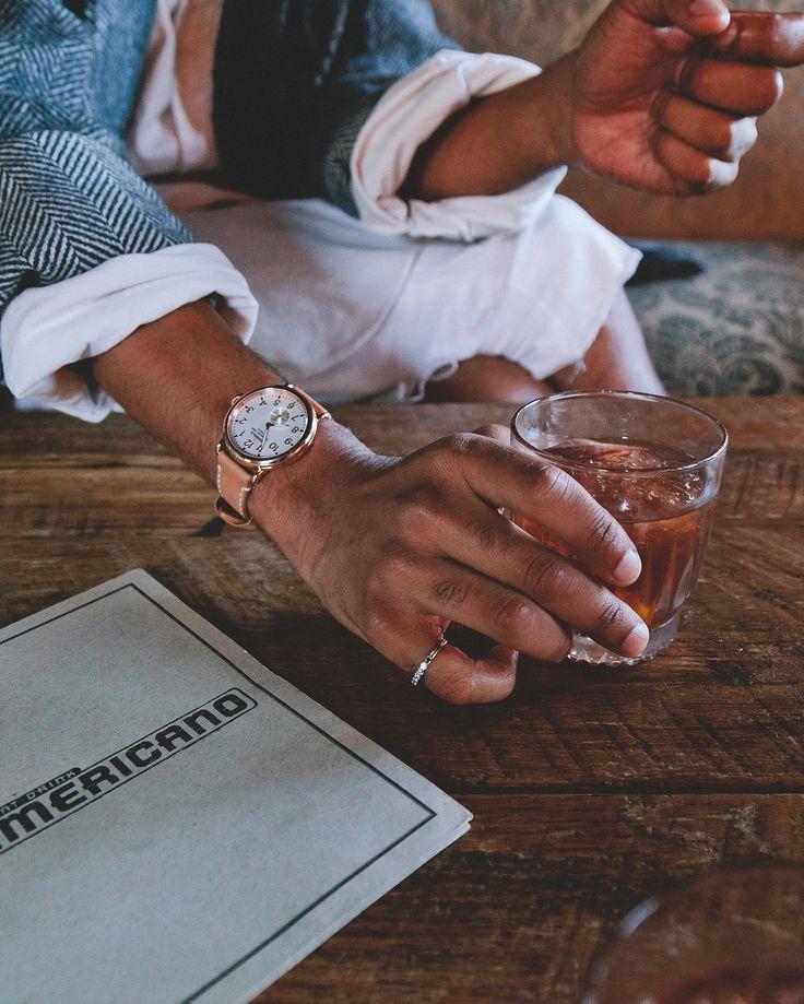 The Runwell 36mm inside Eat, Drink, Americano photographed by Maricel Sison. #DTLA #LoveMyCity