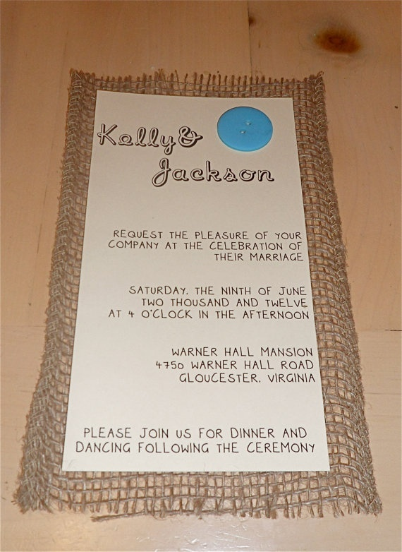 simple diy invites {similar but more refined}