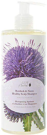 100% Pure Burdock & Neem Healthy Scalp Shampoo.