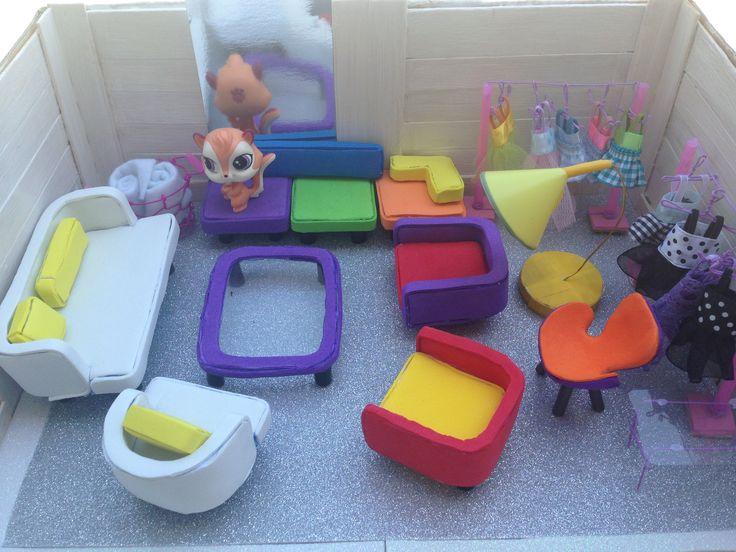LPS Diy Furniture LPS DIYS Lps Diy Accessories Lps