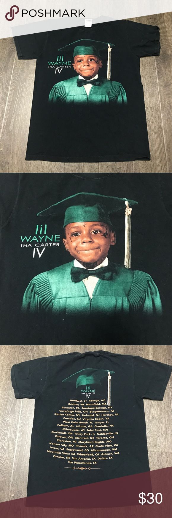 Rap Tee: Lil Wayne Tha Carter IV Tour Shirt Rap Tee: Lil Wayne Tha Carter IV Tour Shirt. Size S. DM for questions! 2011 Supreme Shirts Tees - Short Sleeve