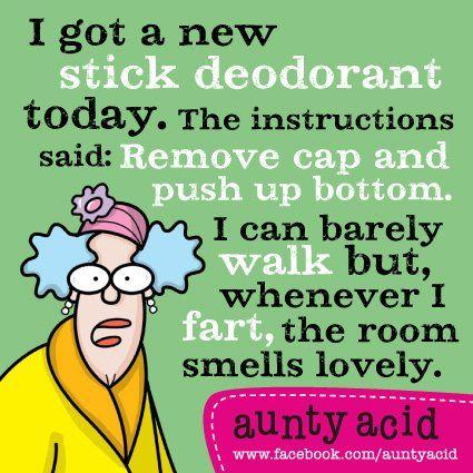 Oh Aunty ... LOL