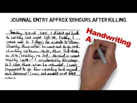 Jodi Arias Handwriting Analysis Excerpt by Deborah Dolen Video