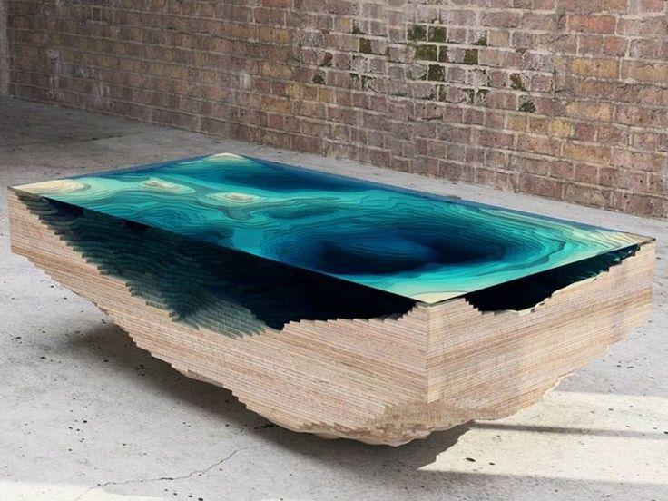 Tavolo rettangolare ABYSS Collezione Tavoli by Duffy London
