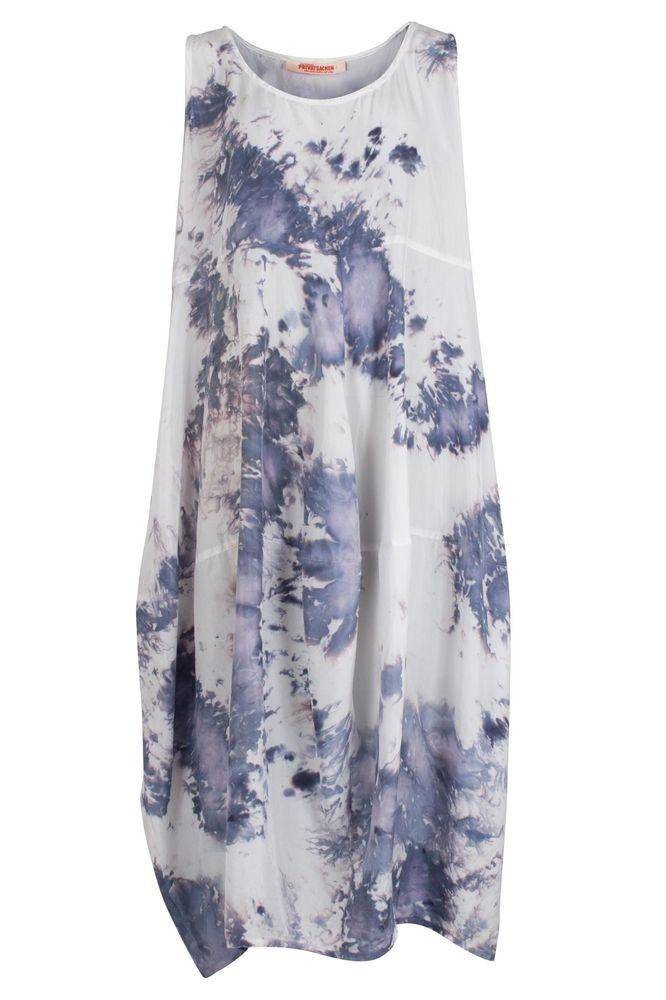 482381334556 PRIVATSACHEN Devon Hand-Dyed Silk Dress SALE rrp £239.00 Size  3 UK 18-26  in 2018