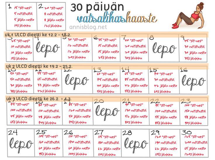 30 pvän haaste