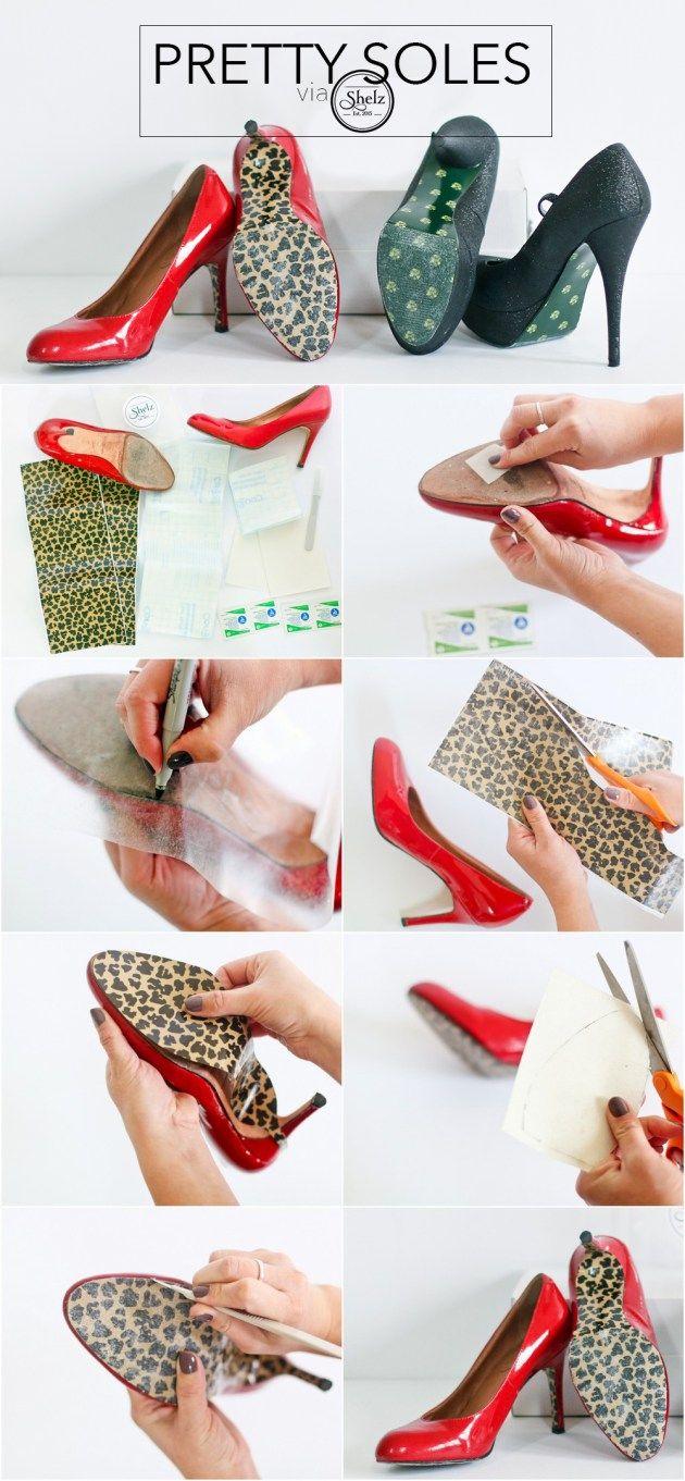 DIY Christmas shoes with Shelz shoe wraps