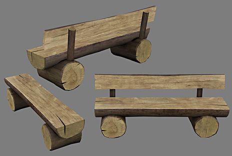 Log+Bench+Designs   Log Bench Designs