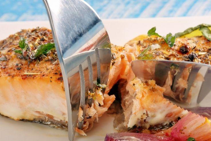 Saumon miel et moutarde, enrobé de chapelure Panko salmon fish honey
