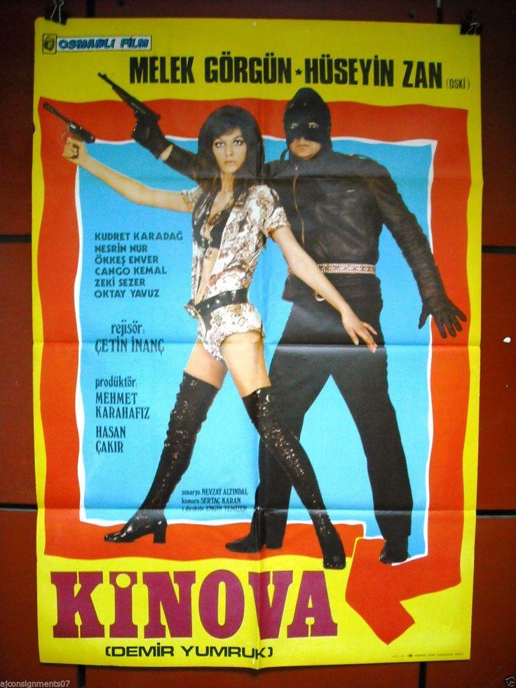 Kinova demir yumruk turkish superhero original rare