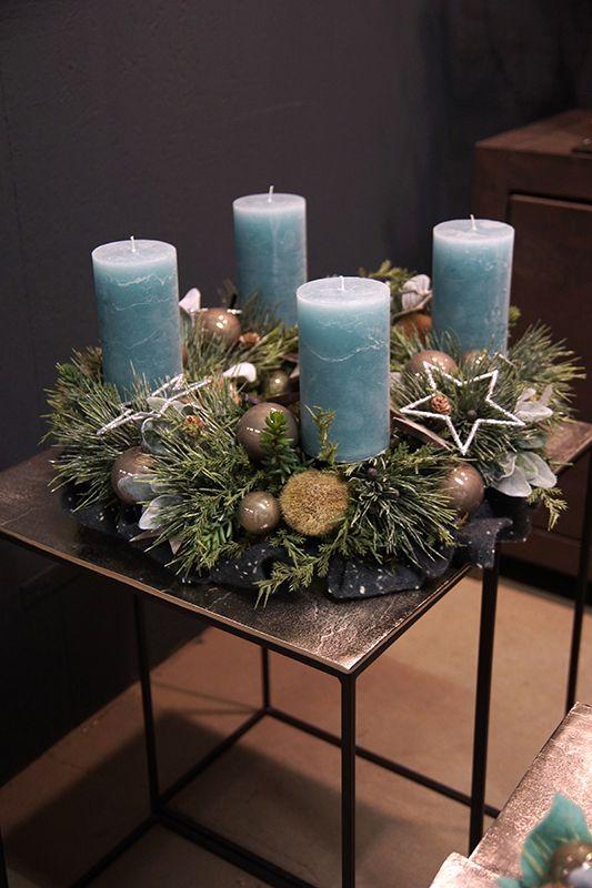 Weihnachtsgesteckideen & Totensonntag   – Adventskranz