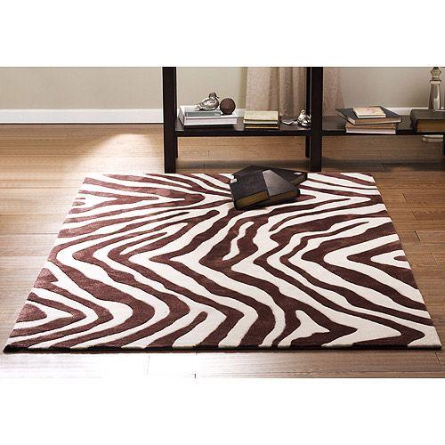17 best images about animal print decor on pinterest for Zebra room decor walmart
