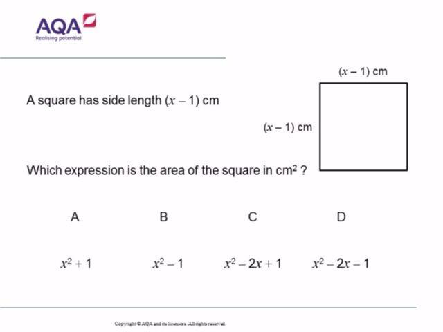 Basic Algebra | Diagnostic Questions