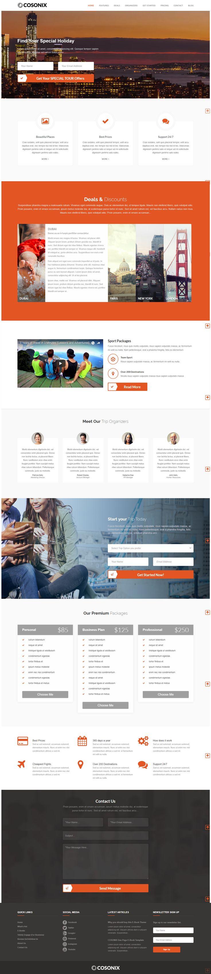 Cosonix Travel is a Multipurpose WordPress