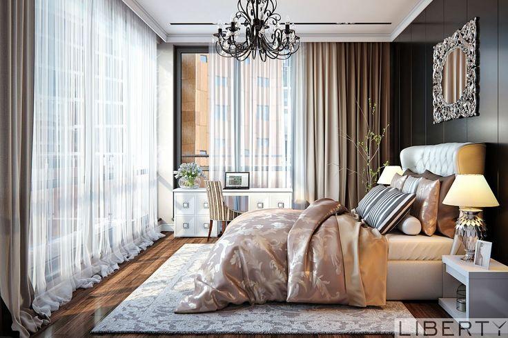 Дизайн проект интерьера  0(555)290011 ☎️   шикарная спальня из нашего проекта
