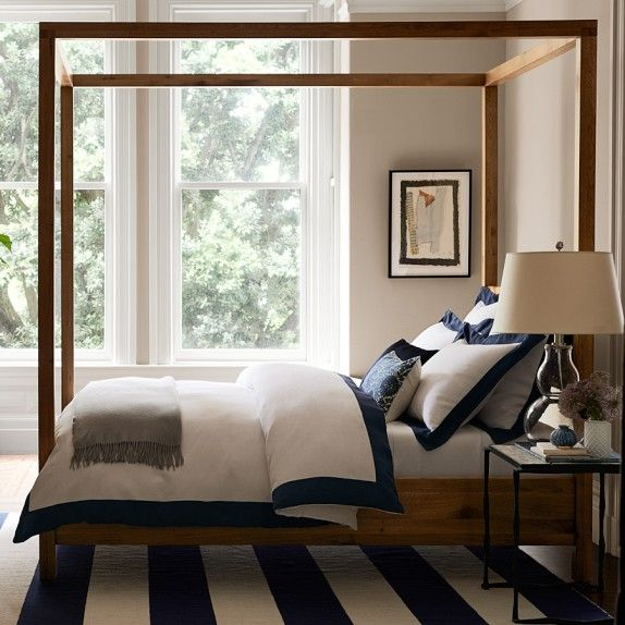 Great Bed Bedroom Chambre Habitaci N Pinterest Dhurrie Rugs Williams Sonoma And Dream