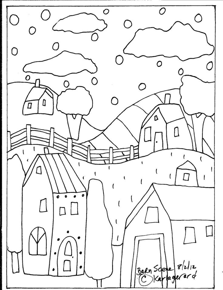 80 best images about karla gerard heather galler on for Folk art coloring pages