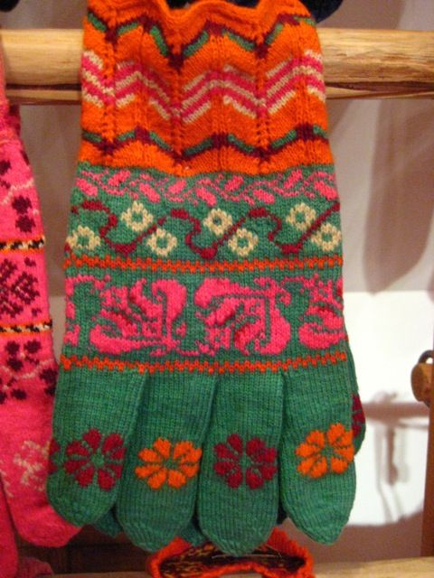 estonian colourwork, muhu museum, via knitlab