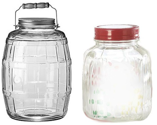 large glass jars with lids - Glass Containers With Lids