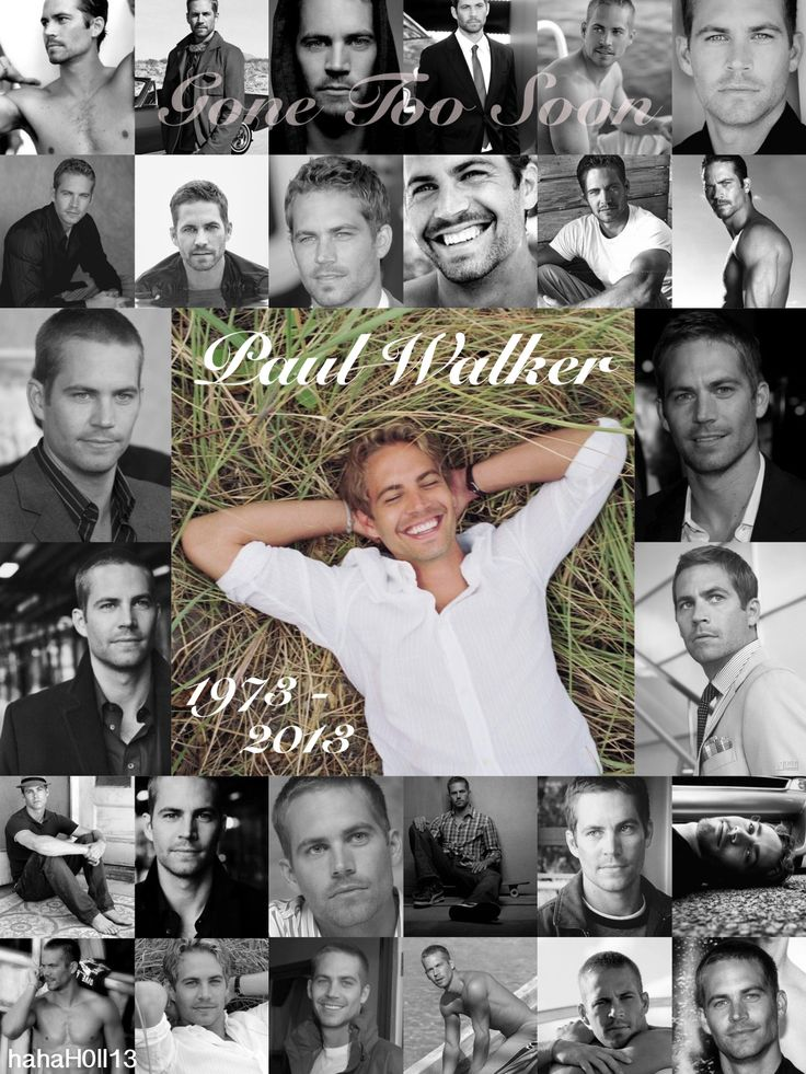 Paul Walker dies in car crash on Saturday November 30th, 2013. He lived 1973-2013 Gone too soon. He's gone but he'll never be forgotten. He was only 40 years old and has left behind a 15 year old daughter. He died way too young.