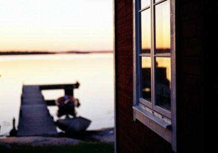 Summer night at Sandhamn, Stockholm archipelago
