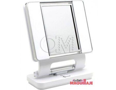 espejo de maquillaje con luz natural ottlite