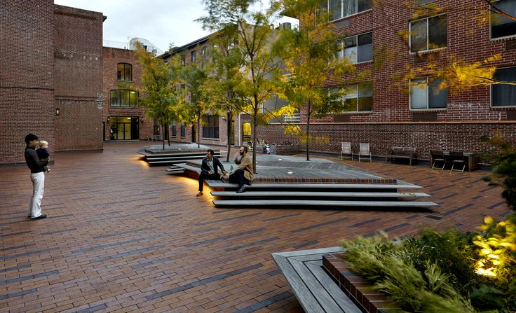 Pocket Park: terrain nyc/ Archipelago Courtyard is a communal 6,000 square foot landscape
