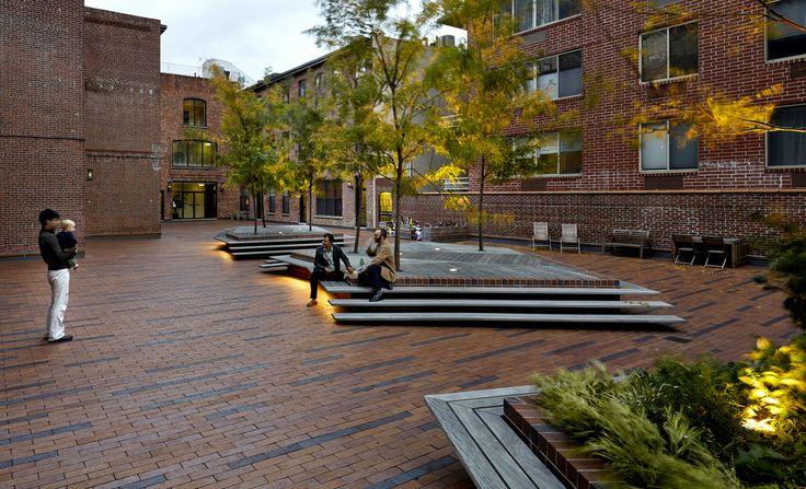 terrain nyc/ Archipelago Courtyard is a communal 6,000 square foot landscape