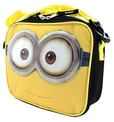 UPD Kids Childrens Boys Girls Lunch Bags Boxes Pales Minion @ niftywarehouse.com #NiftyWarehouse #Geek #Fun #Entertainment #Products