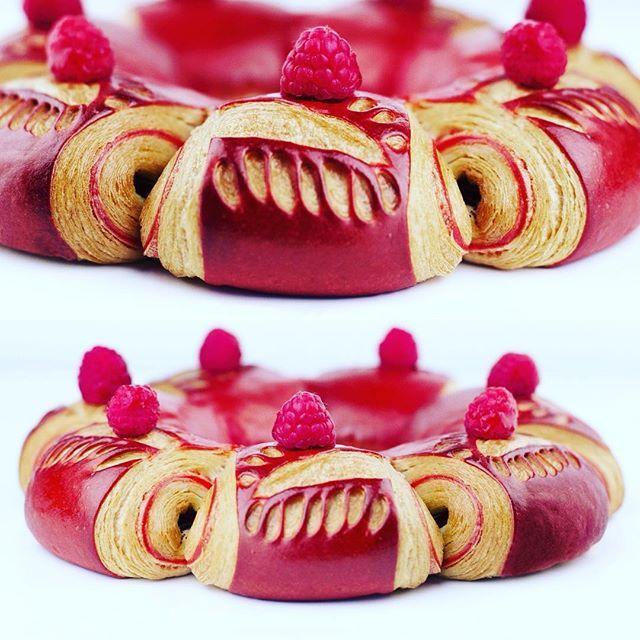 Couronne Pain Chocolat Framboise entre Amis #ludovicrichardmof .