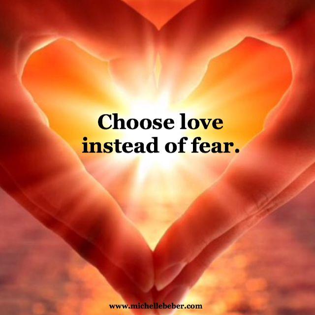 #love #fear