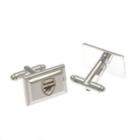 Arsenal F.C. Silver Plated Cufflinks